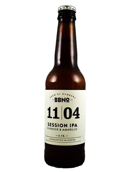 Buy 11|04 Session IPA Chinook & Amarillo online (Brew By Numbers ...