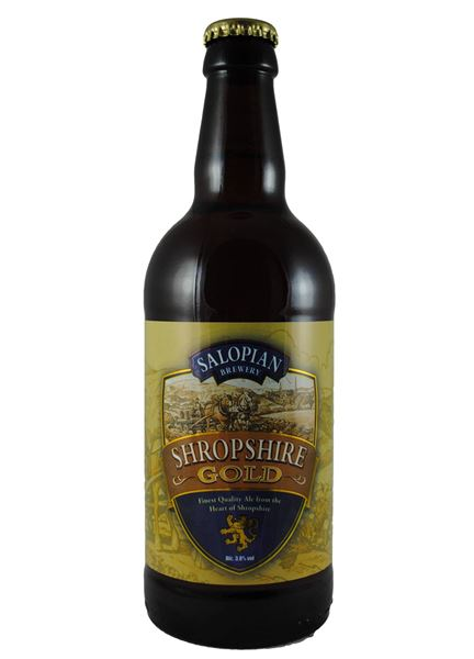 Buy Shropshire Gold online (Salopian Brewing Co.) // Beer Gonzo